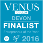Roz Woodward of Securious and South West Cyber Security Cluster selected as finalist in Devon Venus Awards 2016 (not once but twice!)