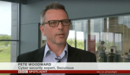 Securious featured on BBC and other media for Lightfoot Connected Car Project
