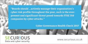 Cyber Governance Health Check 2017: things are getting better – but not fast enough